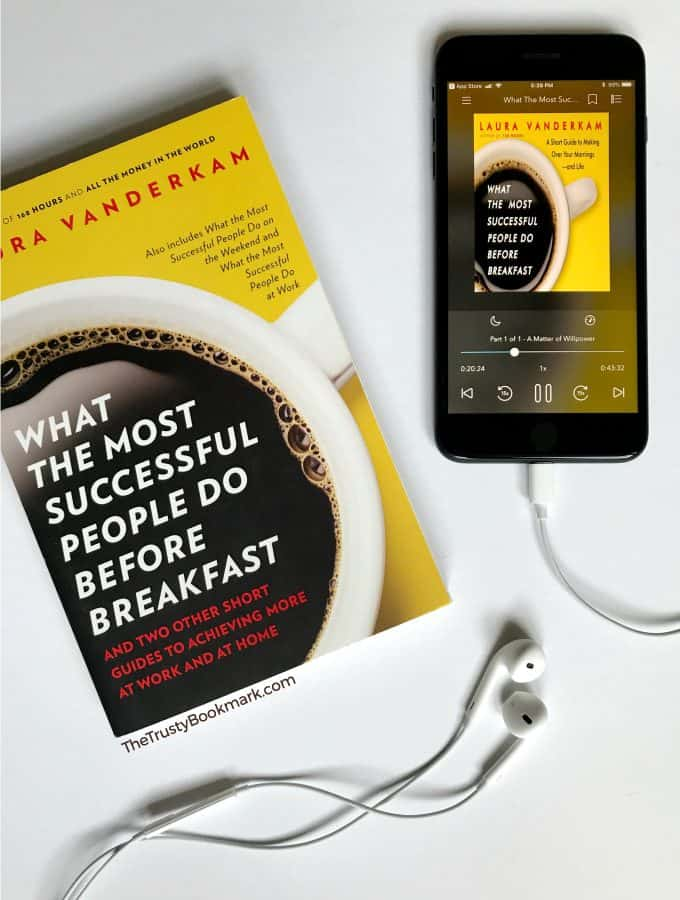 Book Review: What the Most Successful People Do Before Breakfast [The Trusty Bookmark]
