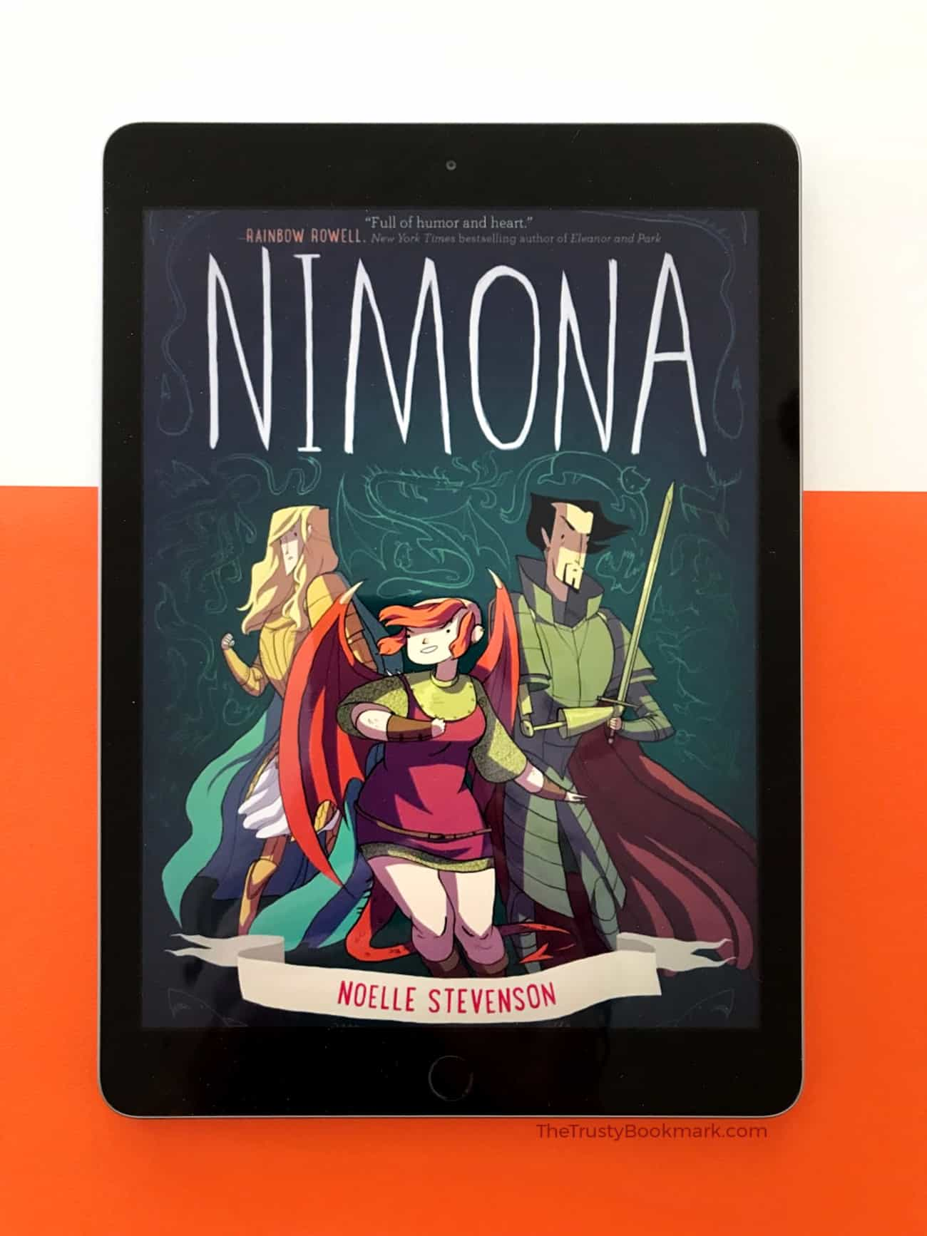 Book Review: Nimona [The Trusty Bookmark]