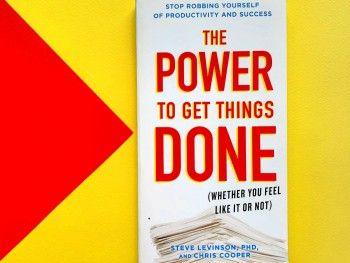 Book Review: The Power to Get Things Done [The Trusty Bookmark]