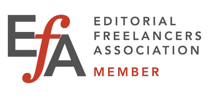 Editorial Freelancers Association Member